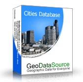 GeoDataSource World Cities Database (Premium Edition) Screenshot 1