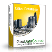 GeoDataSource World Cities Database (Gold Edition) Screenshot 1