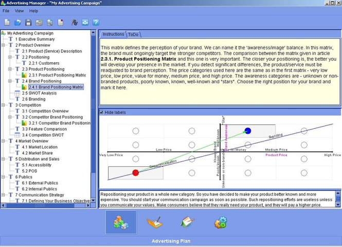 bluevizia Advertising Manager Screenshot 2