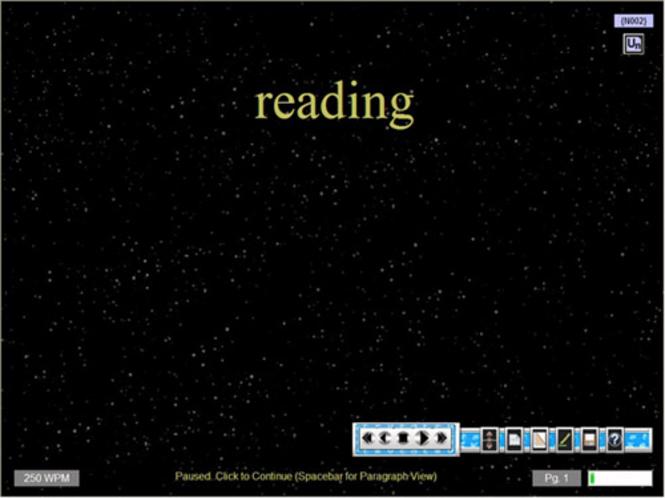 RapidReader PRO Screenshot