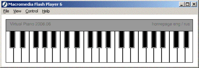 Virtual Piano Screenshot 1