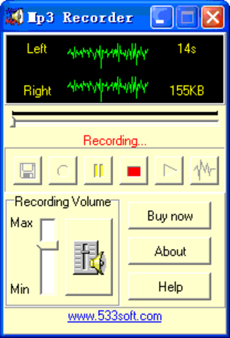 Mp3 Recorder Screenshot 2