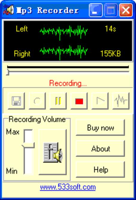 Mp3 Recorder Screenshot 1