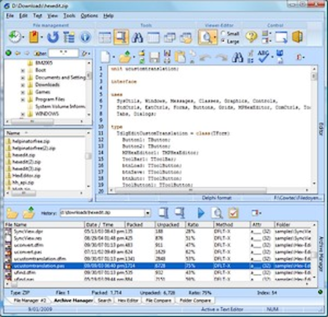Filedoyen Screenshot
