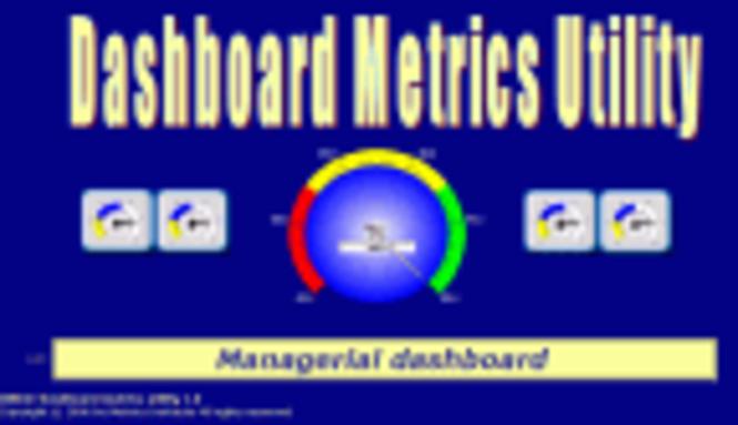 DMU©-Dashboard Metrics Utility Screenshot 1