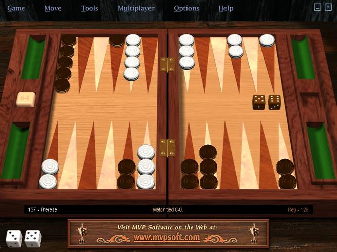 MVP Backgammon Professional Screenshot