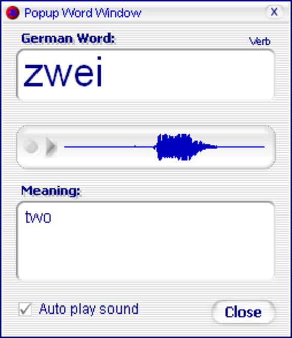 Declan's German Flashcards Screenshot