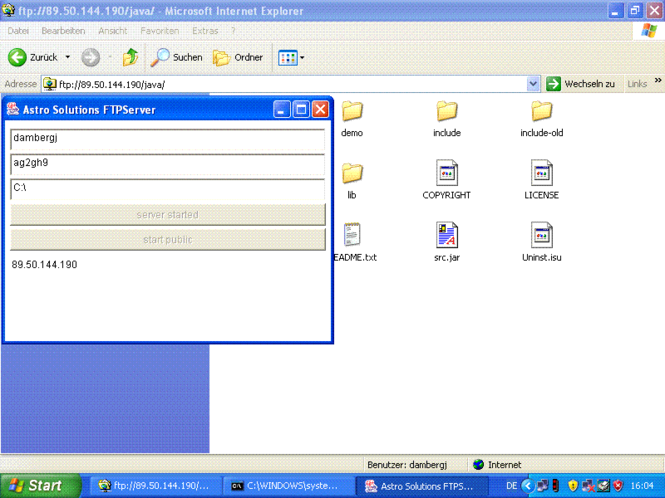 FTPSuite Screenshot