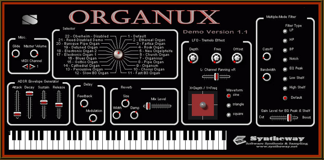 Organux VSTi Screenshot 1