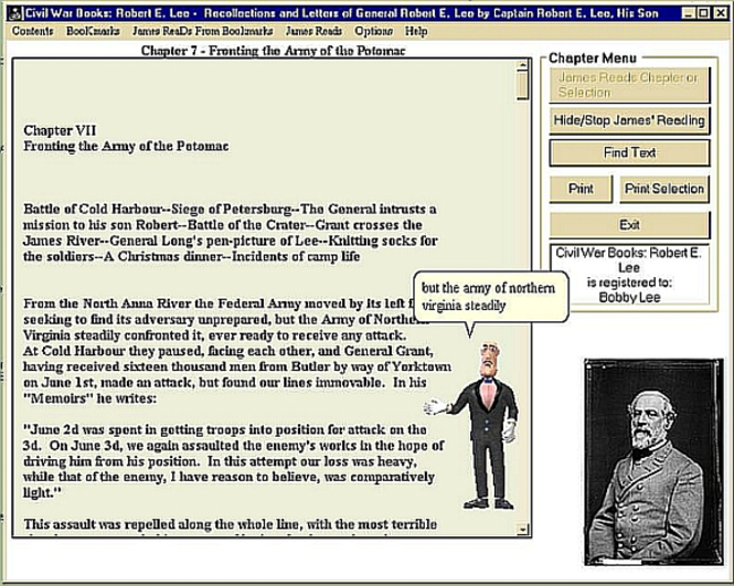 Civil War Books: Robert E. Lee Screenshot 1