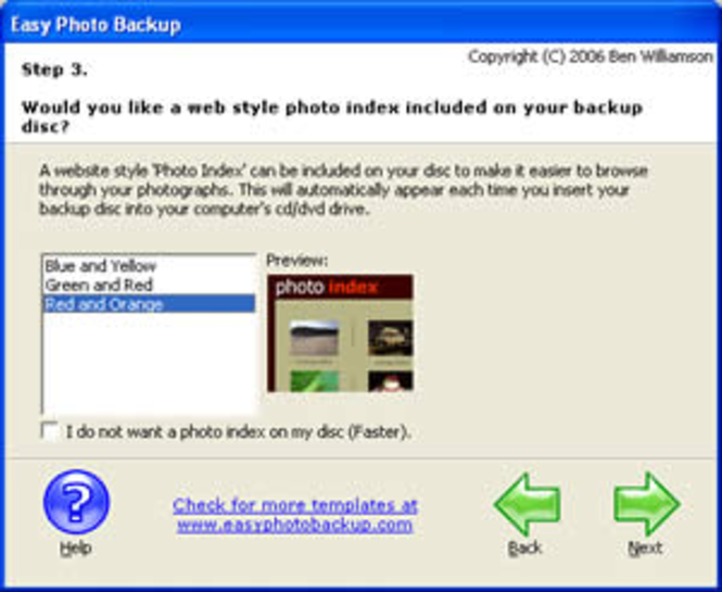 Easy Photo Backup Screenshot