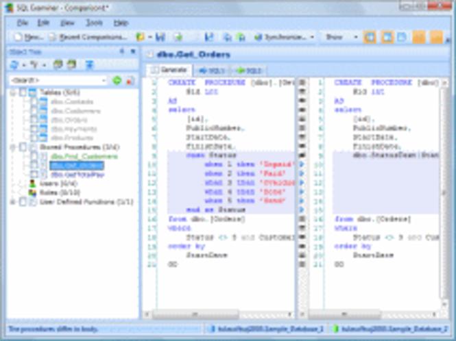 SQL Examiner Suite 2009 Screenshot