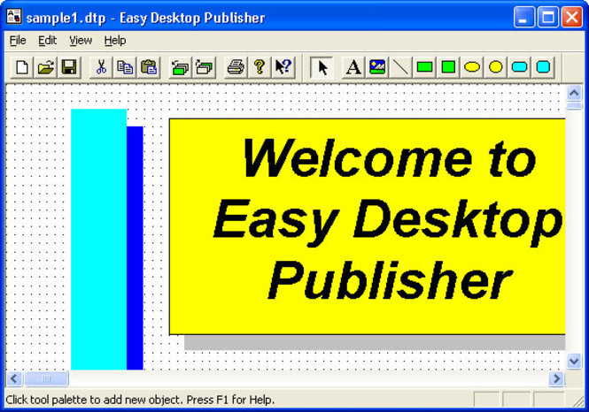 Easy Desktop Publisher Screenshot