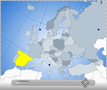 Interactive Flash Map of Europe 1