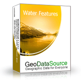 GeoDataSource World Water Features Database (Gold Edition) Screenshot
