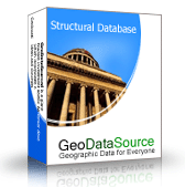 GeoDataSource World Structural Features Database (Premium Edition) Screenshot