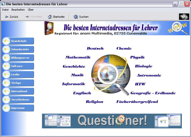 Lehrerlinks Screenshot