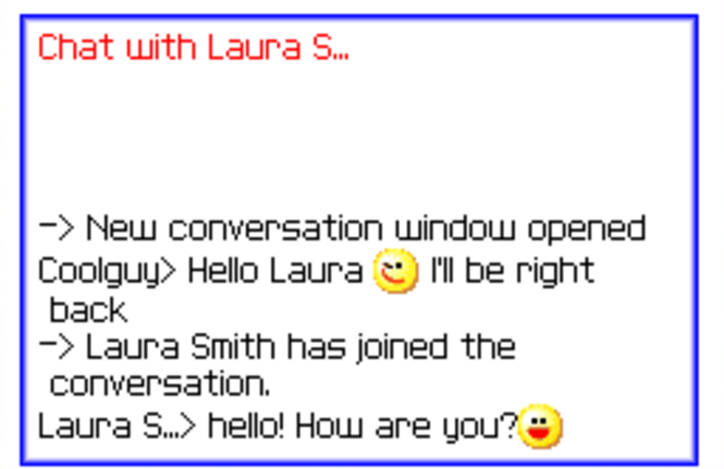 QuickIM Mobile Instant Messenger for MSN / AOL Screenshot
