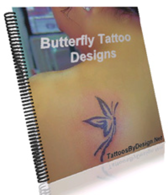Butterfly Flower Tattoo Ebook Screenshot 1