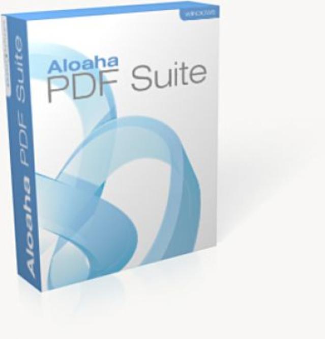 Aloaha PDF Suite Enterprise Version Screenshot