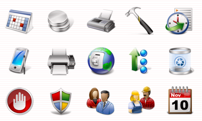 Software Icons Vista Screenshot