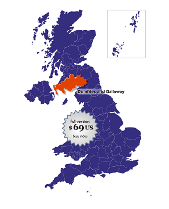 UK Online Map Locator Screenshot 1