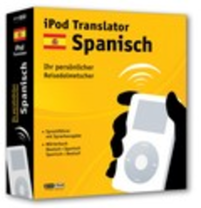 iPod Translator Spanisch (Mac) Screenshot 1