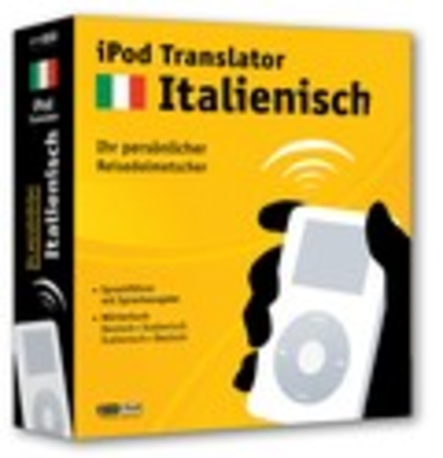 iPod Translator Italienisch (Mac) Screenshot