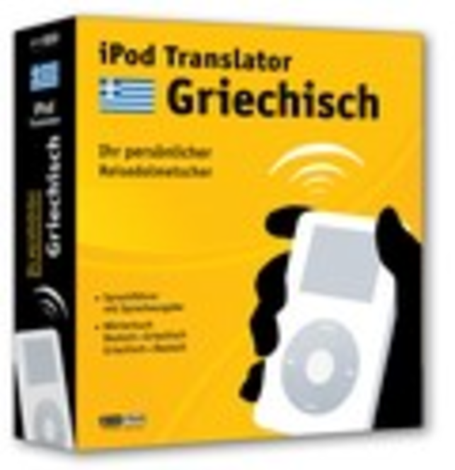 iPod Translator Griechisch (Mac) Screenshot