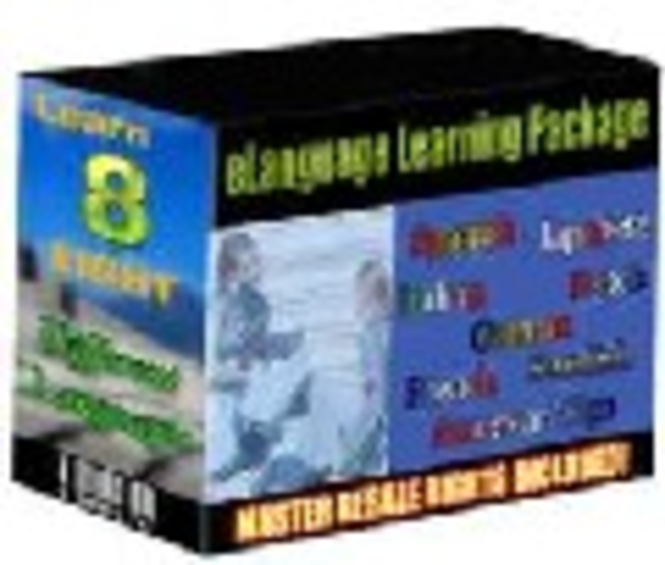 LEARN 8 LANGUAGE EBOOK Screenshot