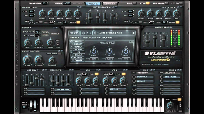 Sylenth1 Screenshot