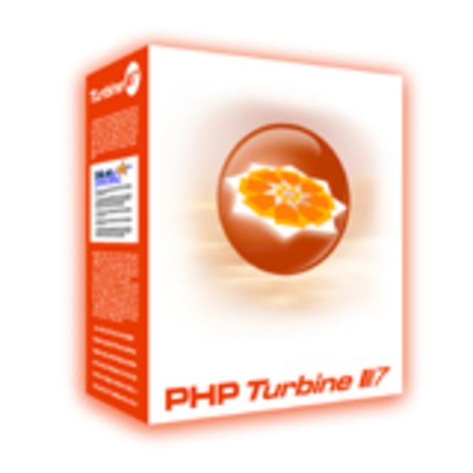 Turbine for PHP with Flash+PDF Output Education License Screenshot
