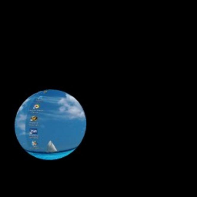 Bouncing Desktop Screenshot