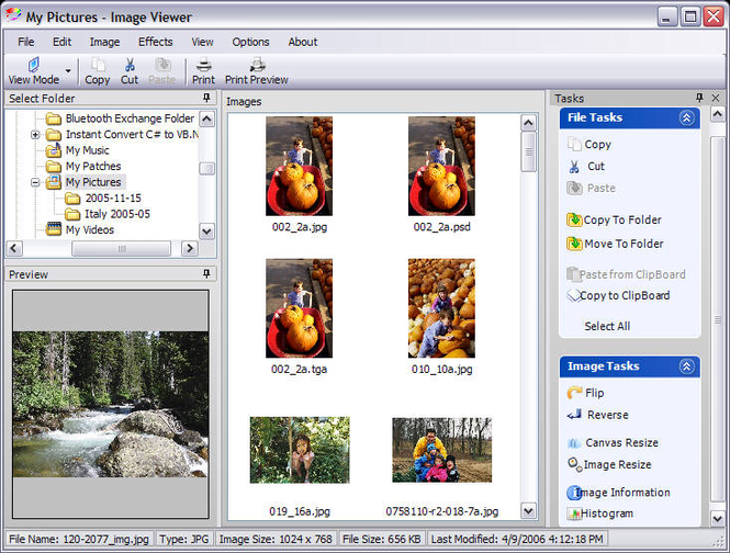 Linos Image Viewer Screenshot 2