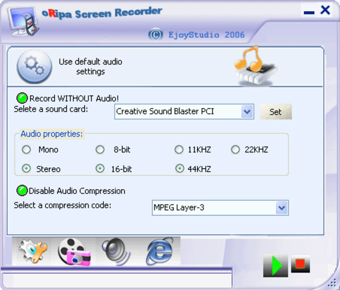 oRipa Screen  Recorder Screenshot