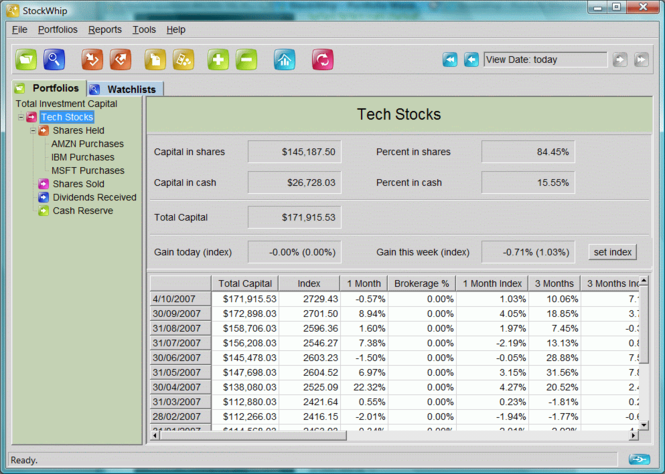 StockWhip Screenshot 1