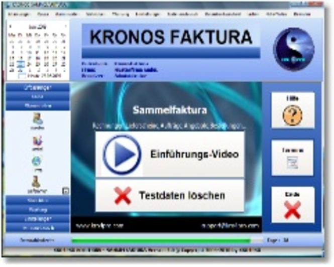 Kronos Faktura Screenshot