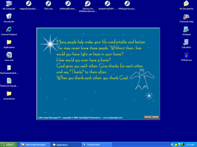 Little Angel Messages Screenshot