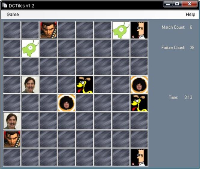 DC Tiles Screenshot