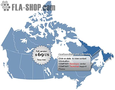 Canada Map Locator 1