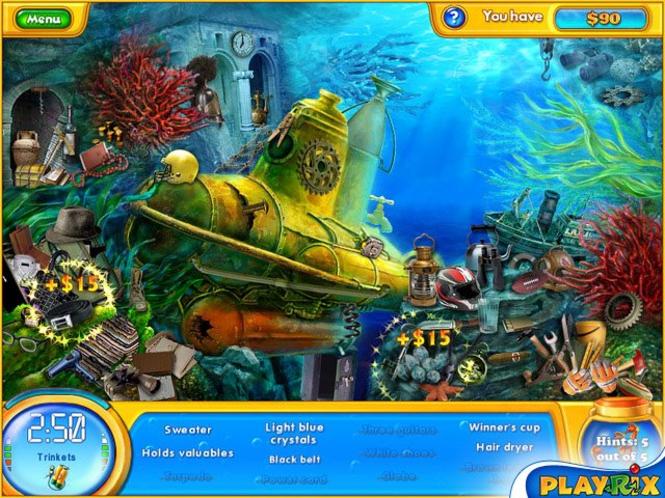 Fishdom H2O: Hidden Odyssey Mac by Playrix Screenshot