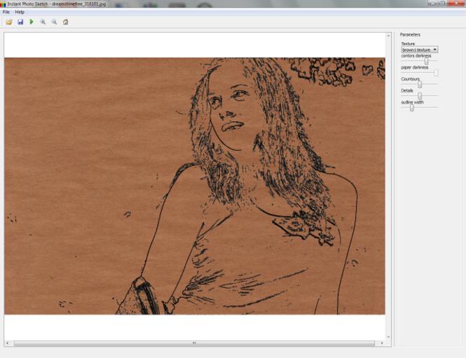 InstantPhotoSketch Pro Screenshot 1