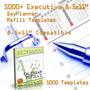 2007 Executive Calendar Refill Templates 1
