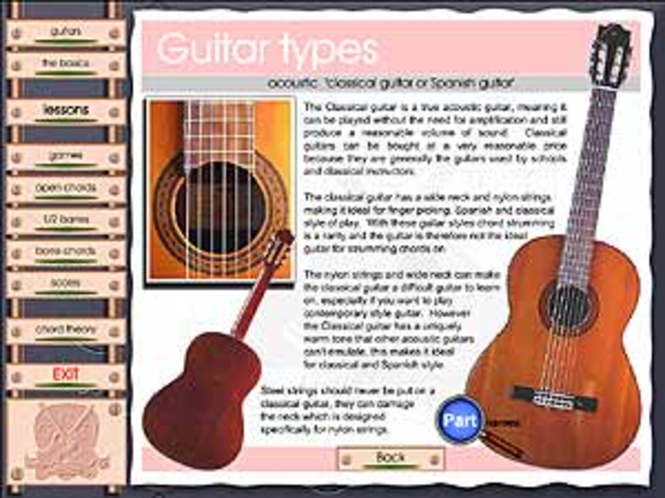 Left Handed guitar course (unit 1) Screenshot