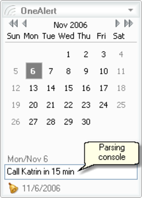 OneAlert Screenshot 1