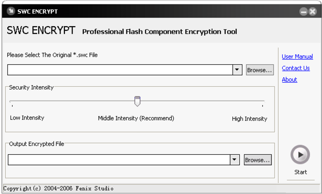 swc encrypt Screenshot