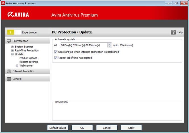 Avira Antivirus Premium 2013 Screenshot 2