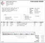 OrderGen Purchase Order Form 1