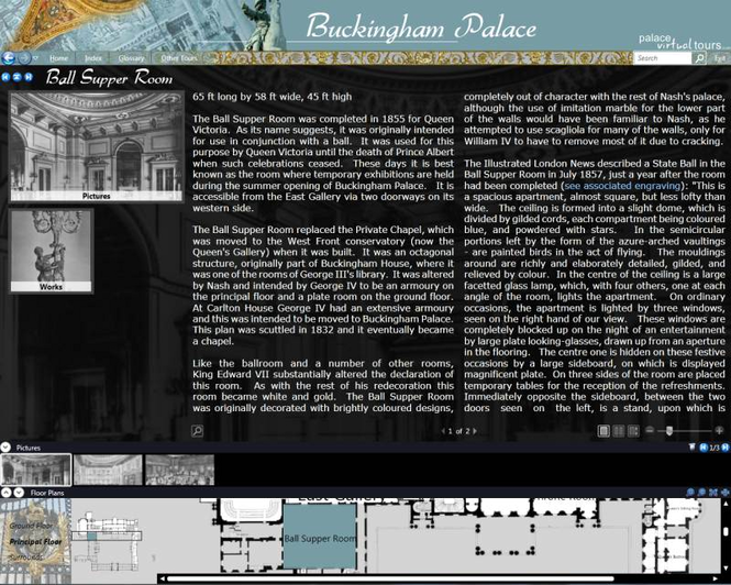 Buckingham Palace Virtual Tour Screenshot