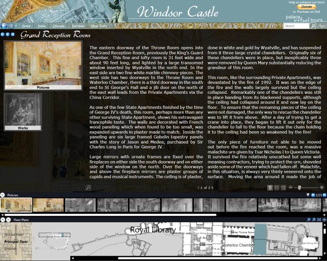 Windsor Castle Virtual Tour Screenshot